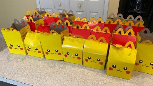 Des Happy Meal avec la tête de Pikachu !