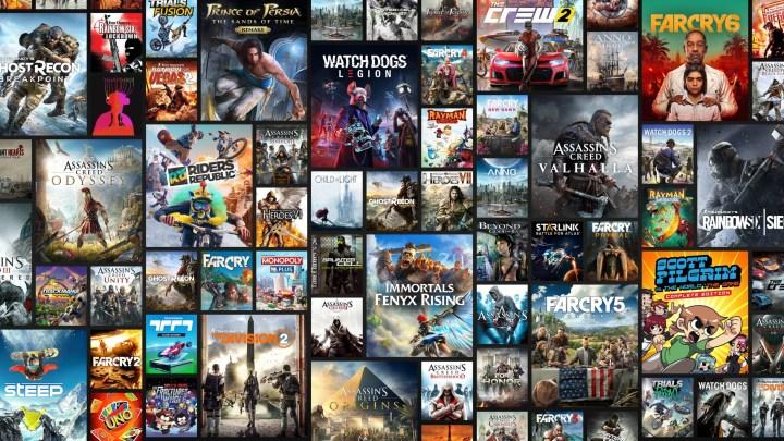 Les jeux d'Ubisoft