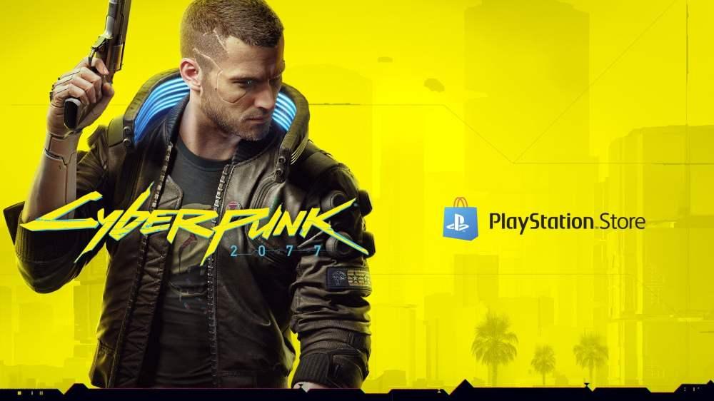 Cyberpunk 2077 Playstation Store