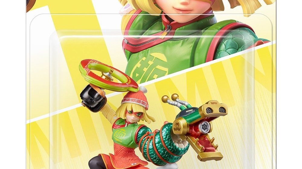 Packaging de l'Amiibo Min Min
