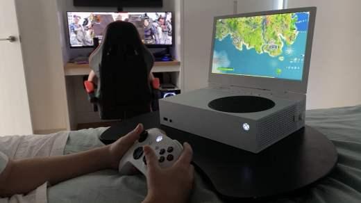 Ecran pour la Xbox Series S
