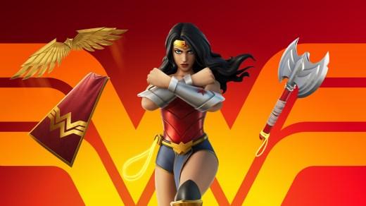 Wonder Woman dans Fortnite !