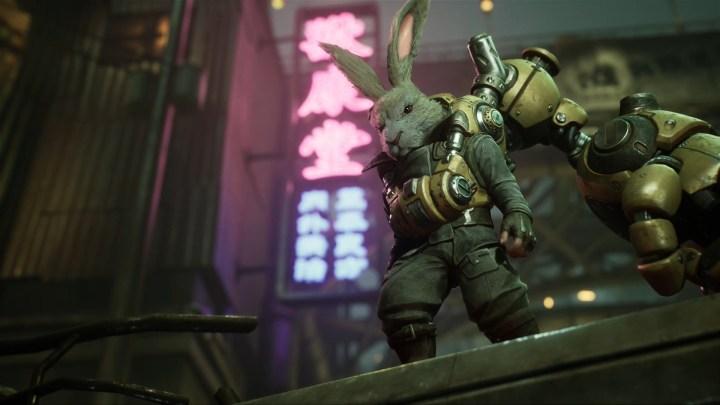 Un lapin dans un environnement Cyberpunk, ça vous dit ?