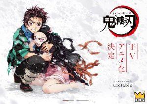 Anime Demon Slayer: Kimetsu no Yaiba tung visual đầu tiên