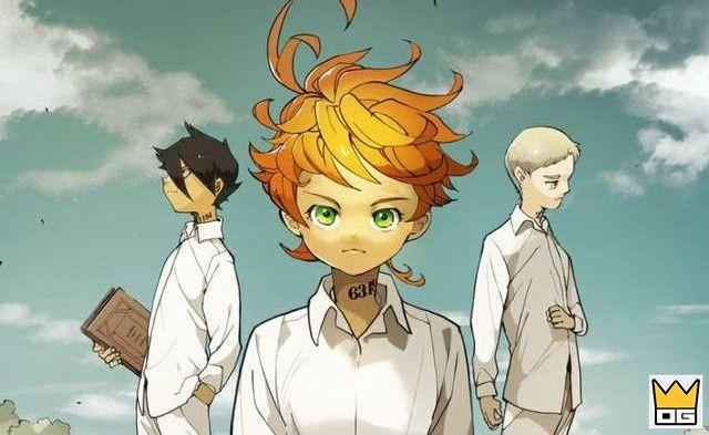 Anime Yakusoku no Neverland tung visual mới giới thiệu nhân vật
