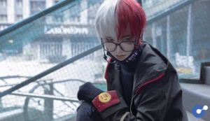 Cosplay Shoto Todoroki trong Boku no Hero Academia siêu điển trai