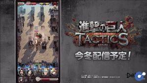 Attack on Titan Tactics – Bom tấn di động mới của DeNa