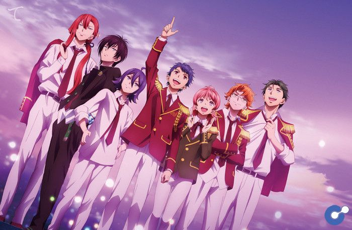 Anime Prism: Shiny Seven Stars tung trailer mới