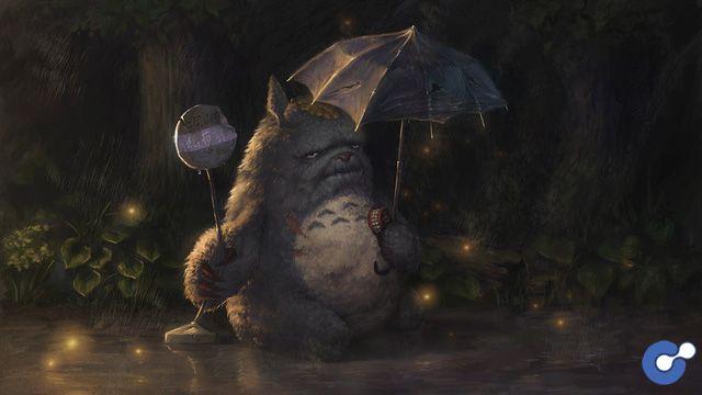 Hãi hùng khi chú mèo đáng yêu trong My Neighbor Totoro biến hình thành thần chết
