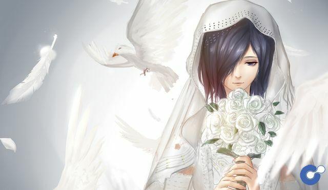Touka Kirishima lộng lẫy trong trang phục váy cưới