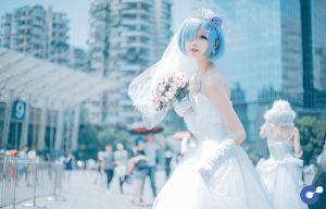 Cosplay cô nàng Rem tuyệt đẹp trong Re:Zero - Mình cưới nhau đi