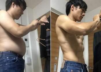 Anh chàng Nhật Bản chia sẻ bài tập thể dục 4 phút mỗi ngày để có cơ bụng 6 múi
