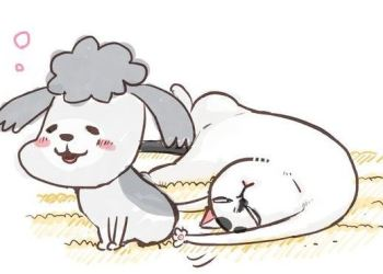 Manga Inu to Neko Docchimo Katteru to Mainichi Tanoshii sẽ được chuyển thể Anime