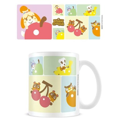 Animal Crossing Mug Character Grid