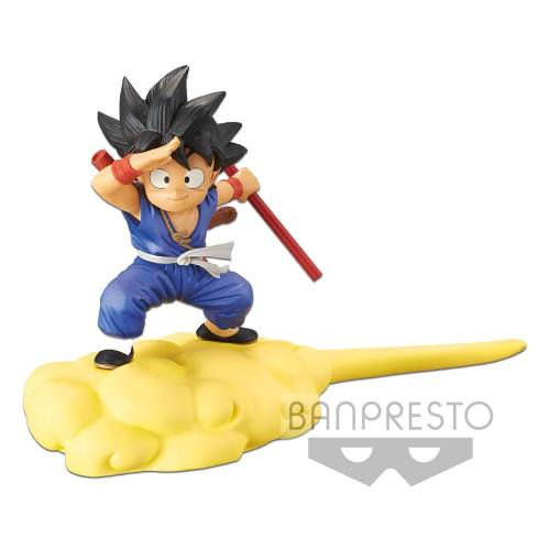Son Goku on Flying Nimbus Special Colour