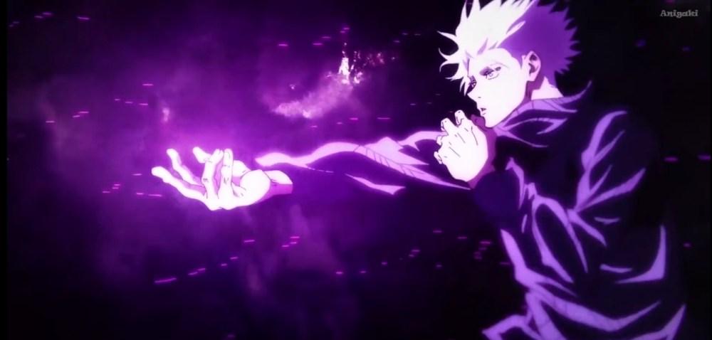 gojo hollow purple