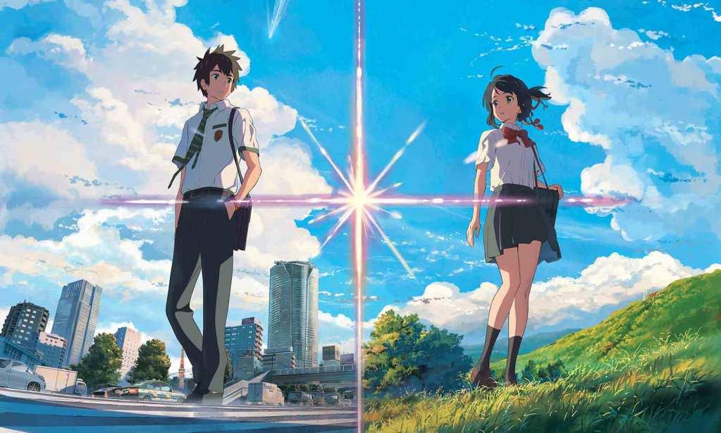 Taki Tachibana and Mitsuha Miyamizu from kimi no na wa.