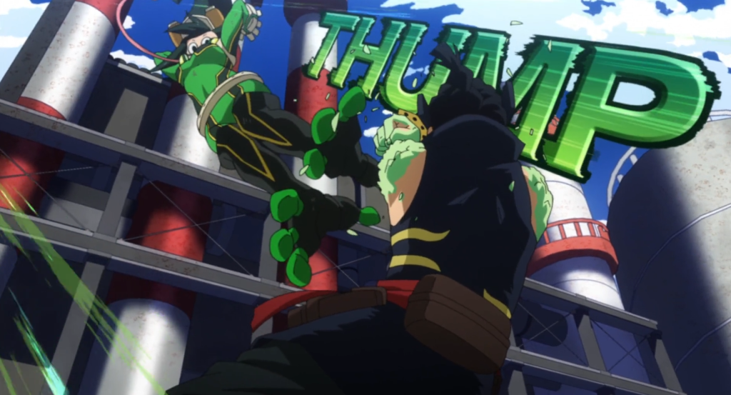 Tsuyu step into the leadership role in My Hero Academia Season 5, Episode 4