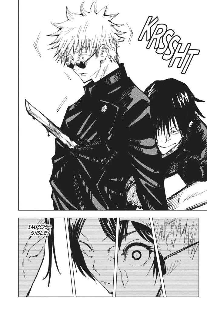 Toji ambushes Gojo