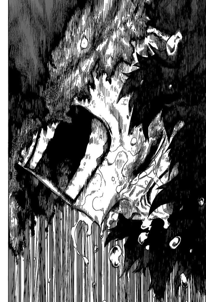 Deku begins to cry in My Hero Academia Chapter 324.