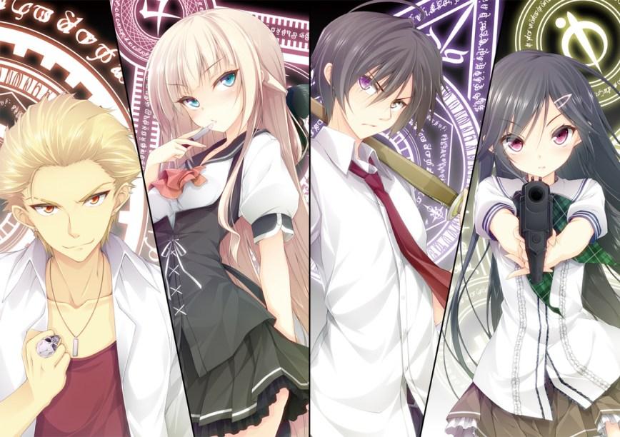 Anime Announcement Round Up Mahou Sensou
