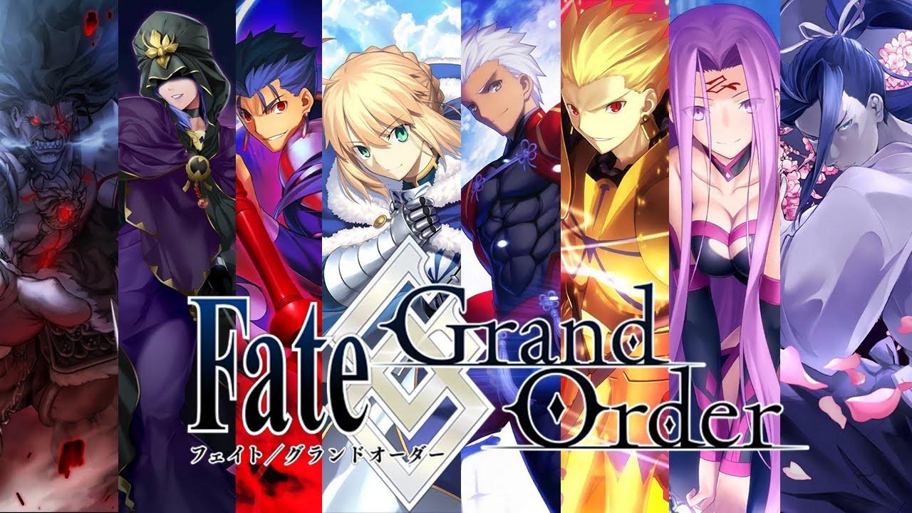 Fate/Grand Order cast