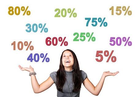 女性と数字
