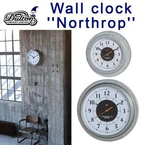 """WALL CLOCK """"NORTHROP"""" WD"""