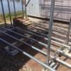 【単管パイプ薪棚】増設用薪棚づくり 其の7