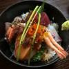 そしてたまたま昨日は仕事が早く終わったから、関市の魚(うお)に行って、海鮮丼をたべてきた。