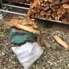 片道1.5時間の薪の納品