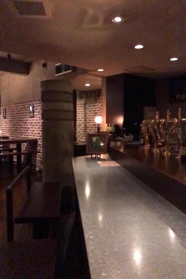 ビールのボトルを返却しに、バーに行って撮影テストをしてみた