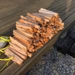 【束づくり】針葉樹薪の束を作る