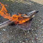 【手間ハンパない】アウトドアストーブ用の薪作り