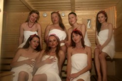 pozdrowienia z sauny