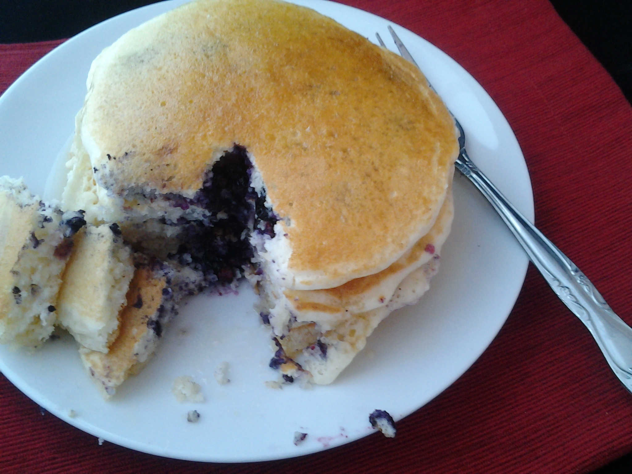 O taste and see better than a box blueberry pancakes o taste and see real homemade buttermilk pancake as easy as the box mix ccuart Image collections