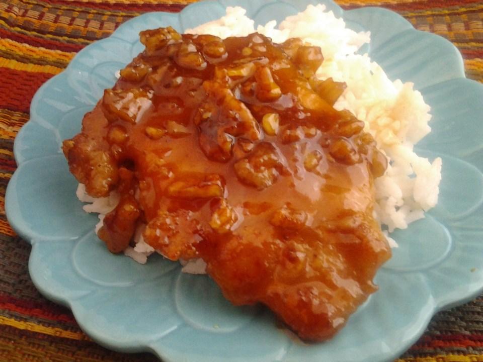 honey pecan pork chops 3