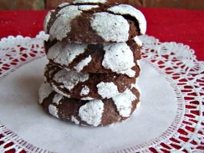 Chocolate Cracklen cookies