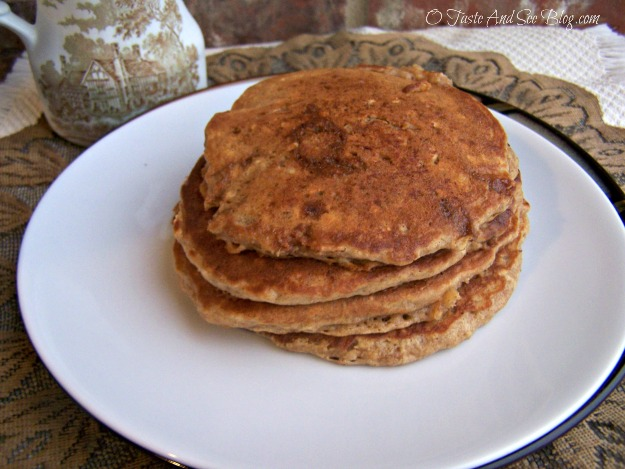 Oatmeal Cookie Pancakes 006