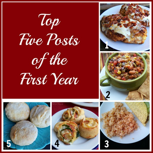 top five of the first year