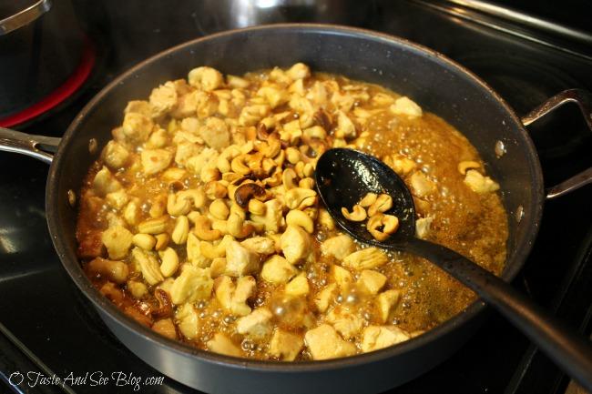 teriyaki cashew chicken 143