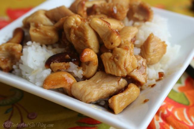 teriyaki cashew chicken 151