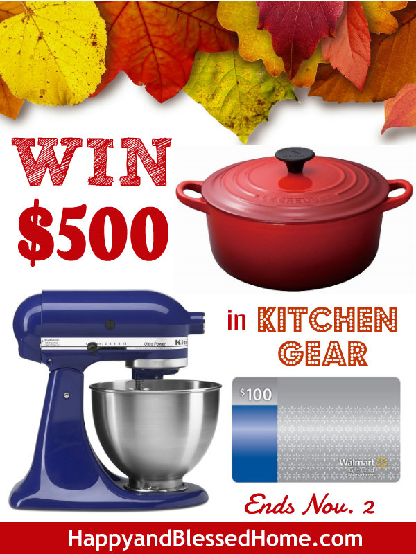 WIN-500-in-Kitchen-Gear-HappyandBlessedHome.com_
