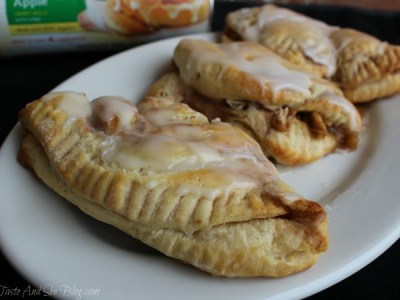 Cinnamon Apple Turnovers #ad
