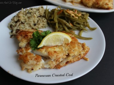 parmesan crusted fish #WildAlaskaSeafood #sp
