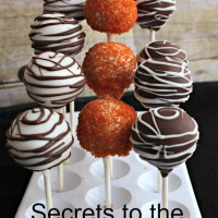 10 Secrets to the Perfect Cake Pops