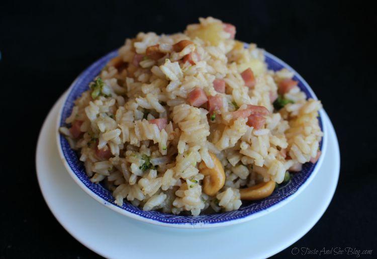 Hawaiian Fried Rice #SmithfieldHambassador AD