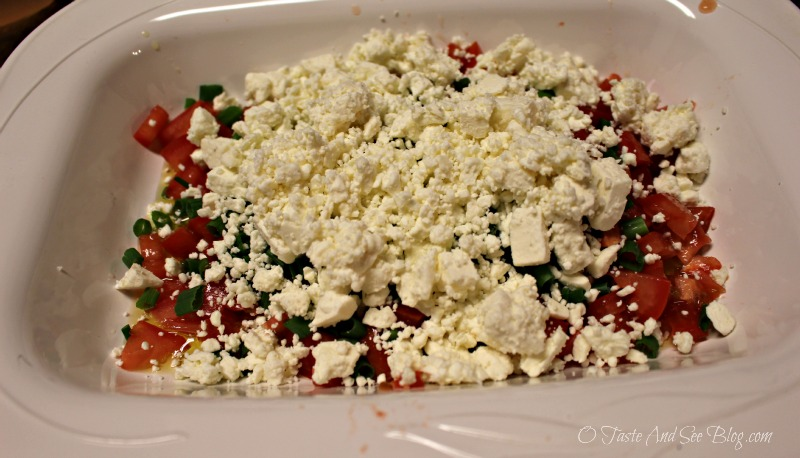 Easy Feta Dip #7DaySwitchUp AD