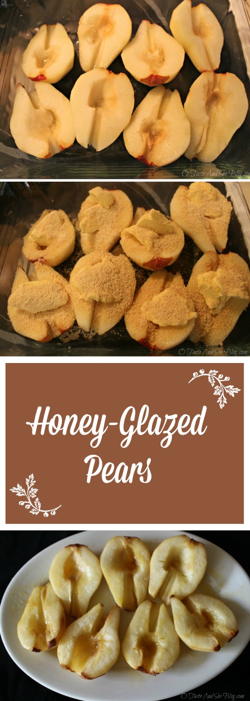 Honey Glazed Pears