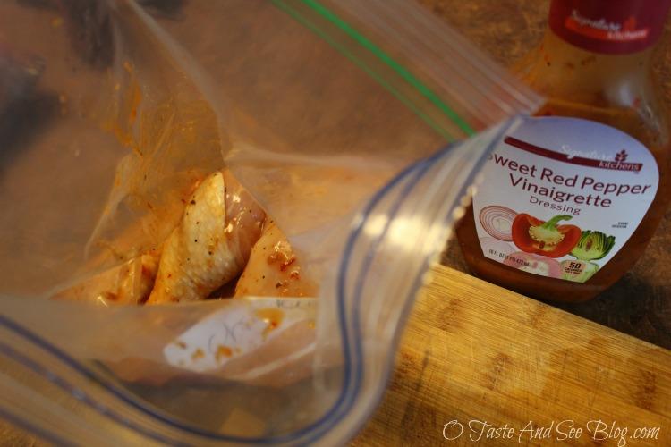 #MySignatureMoments #ad Sweet Red Pepper Chicken